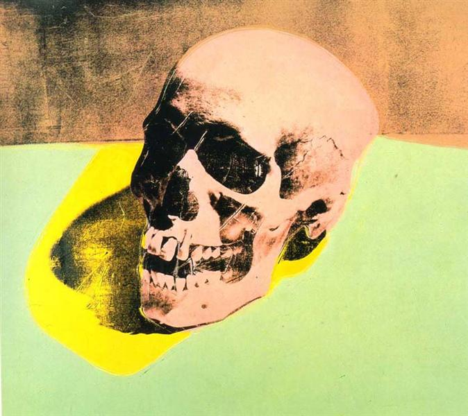 Crâne par Andy Warhol en 1976