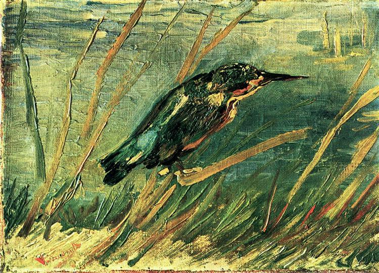 Le Martin-Pêcheur de Vincent Van Gogh en 1886