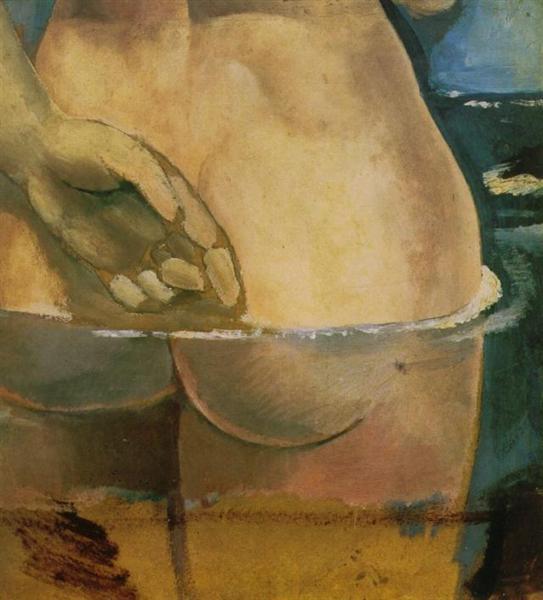 Nude in the Water de Salvador Dali en 1925 ©Wiki-art