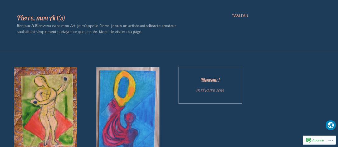 Pierre Mon Art