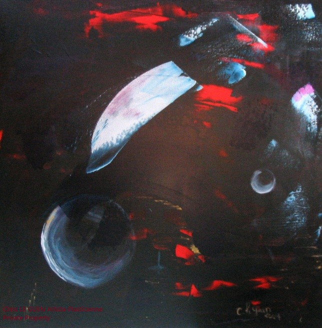 Chris Le Guen Artiste Plasticienne Peintre et Sculptrice a conçu N°7 a