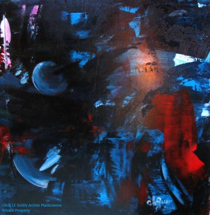 Chris Le Guen Artiste Plasticienne Peintre et Sculptrice a conçu N°7 b