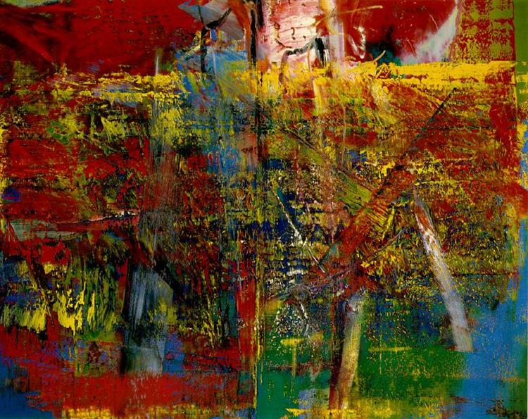 Mediation de Gerhard Richter ©WikiArt