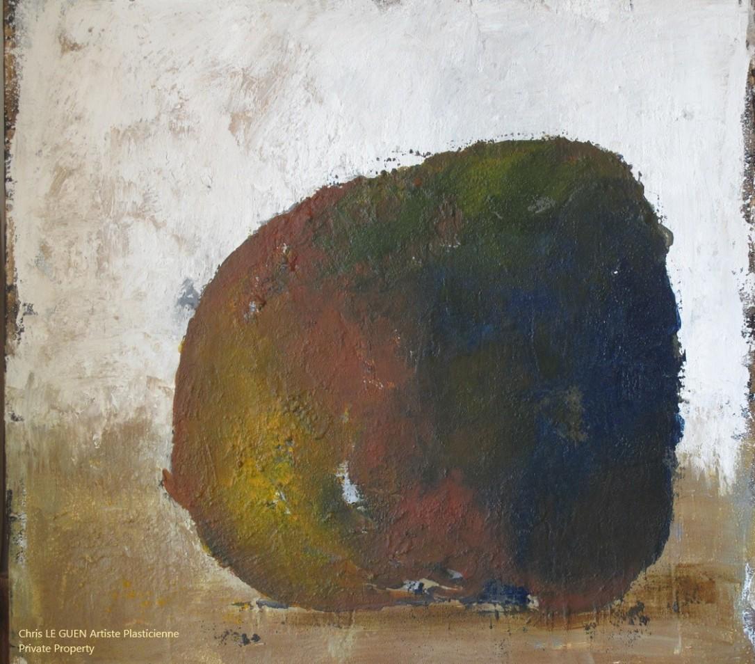 Chris Le Guen Artiste Plasticienne Peintre et Sculptrice peint N°2
