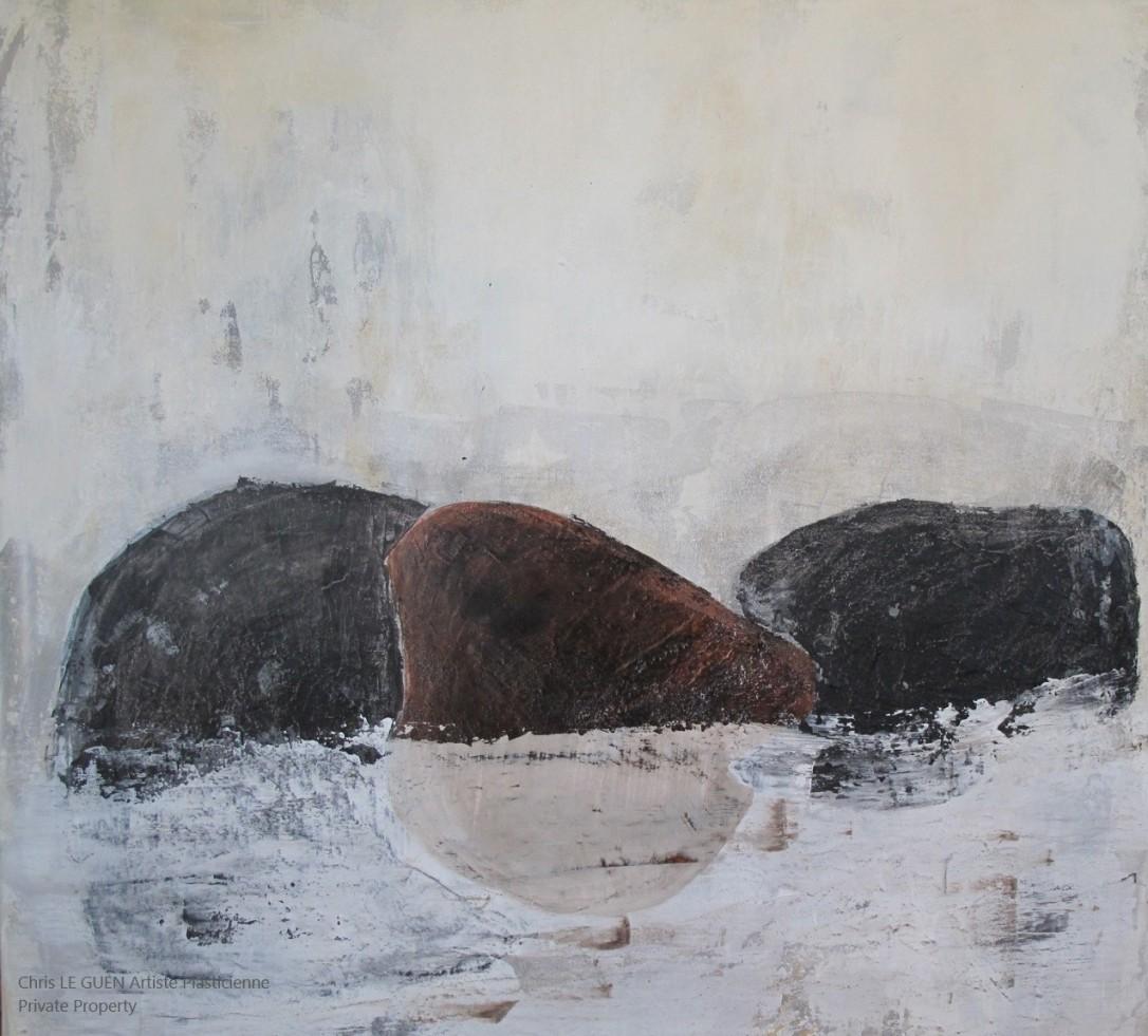 Chris Le Guen Artiste Plasticienne Peintre et Sculptrice peint N°4